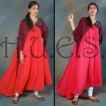 HUES latest fall winter dresses 2013 for women 0012