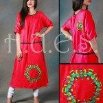 HUES latest fall winter dresses 2013 for women 002