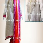Hina Khan Latest Bridal And Formal Collection 2013 002