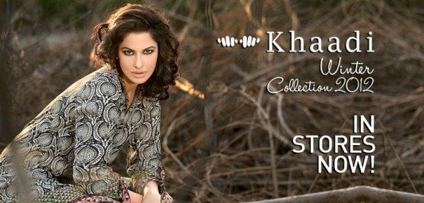 Khaadi New Winter Dresses 2012-2013 For Women