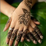 Latest Nail Art & Mehndi Designs by Hadiqa Hadiqa Kiani Salon 2013