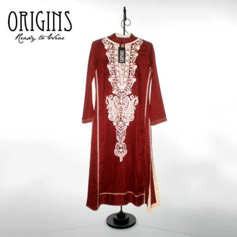 Latest Origins New Ready To Wear Winter Range Dress collection 2013-14 For Women (2)