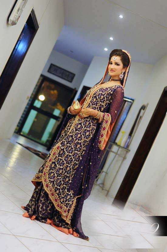 Latest Pakistani Bridal Lehanga Dresses 2013
