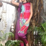 Latest Pareesa Winter Dress collection For Women 2012-13 By ChenOne