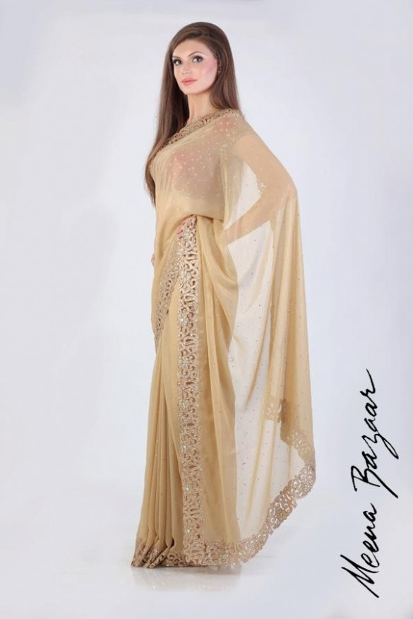Latest Saree Arrivals 2013 By Meena Bazar 001