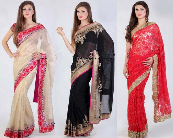 Latest Saree Arrivals 2013 By Meena Bazar 0011