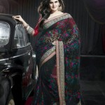 Latest Saree Collection 2012-2013 By Zarine Khan 003
