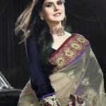 Latest Saree Collection 2012-2013 By Zarine Khan 005