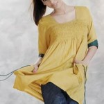 Latest Uzma Creation winter tops and tunics collection 2012-13 for women