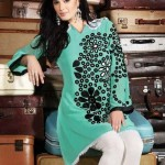 Latest Uzma Creation winter tops and tunics collection 2012-13 for women (7)