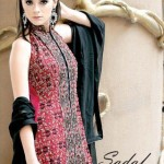 Latest Winter Dresses 2013 For Women By Sadaf Dziner Studio 005