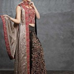 Latest Winter Dresses 2013 For Women By Sadaf Dziner Studio 006