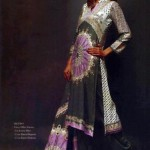 Latest Winter Linen Dresses 2013 For Women By Orient Textiles 002