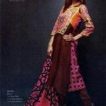 Latest Winter Linen Dresses 2013 For Women By Orient Textiles 003
