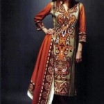 Latest Winter Linen Dresses 2013 For Women By Orient Textiles 004