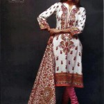 Latest Winter Linen Dresses 2013 For Women By Orient Textiles 005