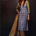 Latest Winter Linen Dresses 2013 For Women By Orient Textiles 008