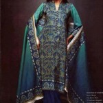 Latest Winter Linen Dresses 2013 For Women By Orient Textiles 009