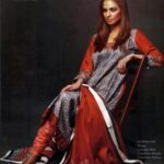 Latest Winter Linen Dresses 2013 For Women By Orient Textiles