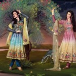 Latest Winter Party & Formal Dresses 2012-2013 By Uzma Creation 002