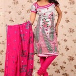 Latest Winter Shalwar Kameez Designs 2013 For Young Girls 001