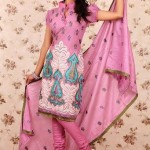 Latest Winter Shalwar Kameez Designs 2013 For Young Girls 003