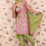 Latest Winter Shalwar Kameez Designs 2013 For Young Girls 004