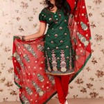 Latest Winter Shalwar Kameez Designs 2013 For Young Girls 005