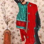 Latest Winter Shalwar Kameez Designs 2013 For Young Girls 006