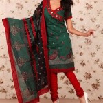 Latest Winter Shalwar Kameez Designs 2013 For Young Girls 007