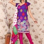 Latest Winter Shalwar Kameez Designs 2013 For Young Girls 008