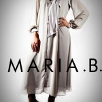 Maria B Latest Winter Dresses 2013 For Women 005