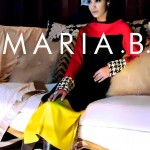 Maria B Latest Winter Dresses formal wear Collection 2013-14 for women