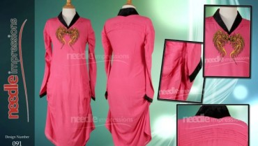 Needle Impressions Party Wear Latest Winter Collection 2012-13 For Women (4)