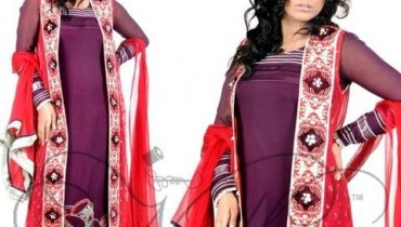 Needlez By Shalimar Latest Winter Party Outfits 2012-2013 For Women 001
