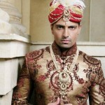 Pakistani Groom & Bridal Wear Collection 2012-2013 For Wedding 002