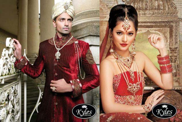 Pakistani Groom & Bridal Wear Collection 2012-2013 For Wedding 009