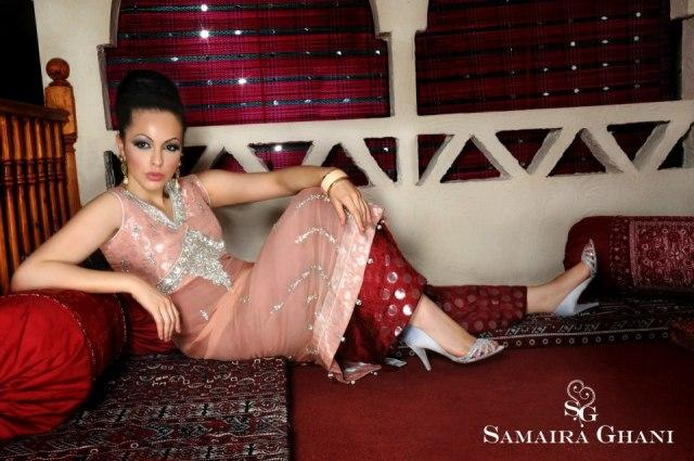 Samaira Ghani Latest Formal Dresses 2013 Collection For Women