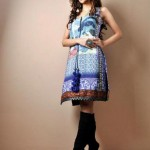 Shamaeel Ansari Latest Party Wear Winter dress Collection Digital Prints 2013 For Women