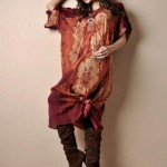 Shamaeel Ansari Latest Party Wear dress Collection Digital Prints 2013 For Winter (1)