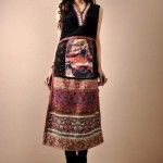 Shamaeel Ansari Latest Party Wear dress Collection Digital Prints 2013 For Winter (2)