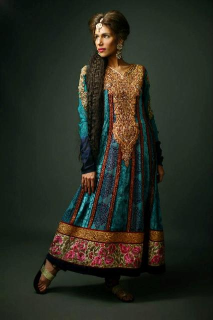Shamaeel Ansari Latest Winter Formal Dresses 2012-2013 For Women 001
