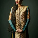 Shamaeel Ansari Latest Winter Formal Dresses 2012-2013 For Women 007