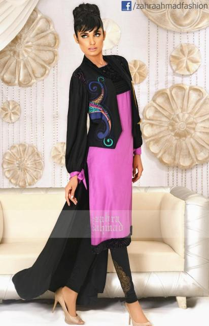 Zahra Ahmad Latest Wonderful Winter Dresses 2012-2013 For Women 0010