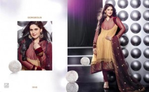 Zarine Khan Party Wear Dress New Collection 2012-13 by The Diva for women (1)