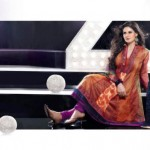Zarine Khan Party Wear Dress New Collection 2012-13 by The Diva for women