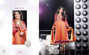 Zarine Khan Party Wear Dress New Collection 2012-13 by The Diva for women (5)