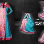 chiffon frock Clothes Line Winter Collection 2012-2013 For Women With Price