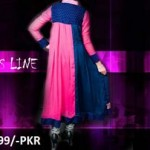 chiffon frock Clothes Line Winter Collection 2012-2013 For girls With Price