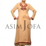 Asim Jofa Latest Semi Formal Dresses 2013 For Women 0012